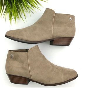 Sam Edelman Petty Ankle Tan Bootie